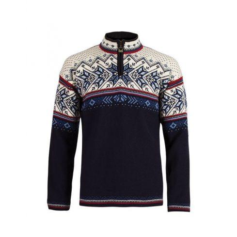 Dale: Vail 90331 C unisex pullover , ongevoerde Noorse pullover gemaakt van 100% Noorse wol.