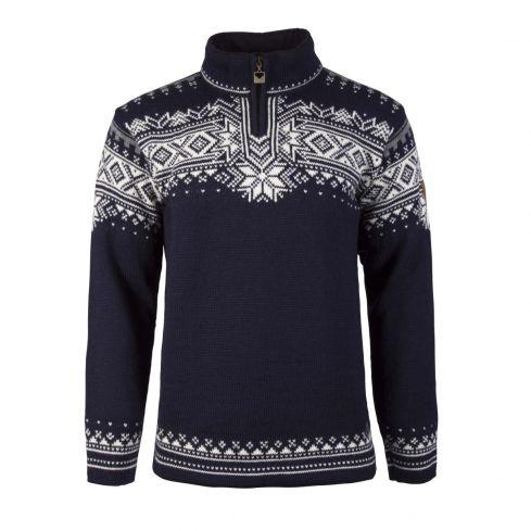 Dale: Anniversary 34931 C Noorse heren pullover van 100% Noorse wol
