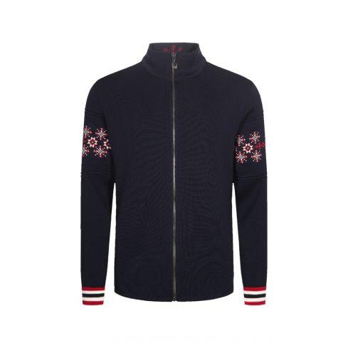 Dale of Norway: Monte Cristallo 83591C  Noors heren vest van 100% Merino wol