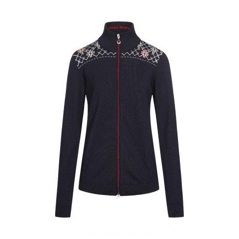 Dale  of Norway: Trondheim 83661C Noors dames vest van 100% Merino wol.