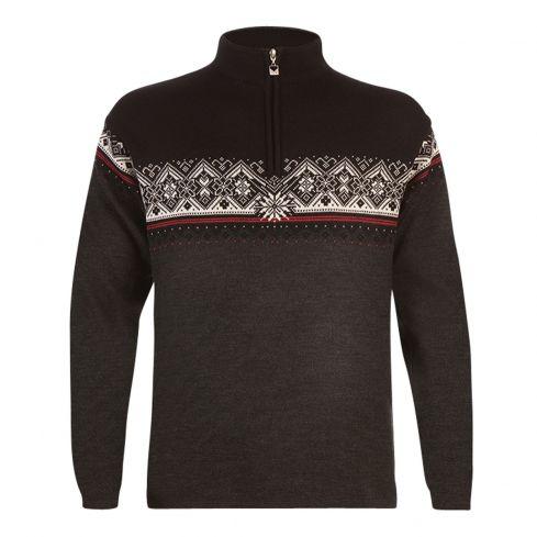 Dale: Moritz 91391 E Noorse heren pullover gemaakt van 100% Merino wol.