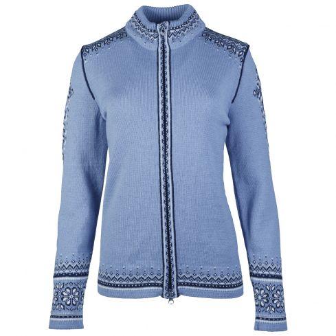 Dale of Norway: Anniversary 83481D Noors dames vest van 100% lichtgewicht wol