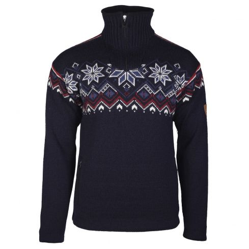 Dale of Norway: Fongen   93971C Noorse heren pullover van 100% duurzame Noorse wol en winddicht