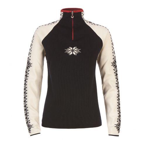 Dale of Norway: Geilo 82311C getailleerde Noorse dames pullover van 100% Merino wol