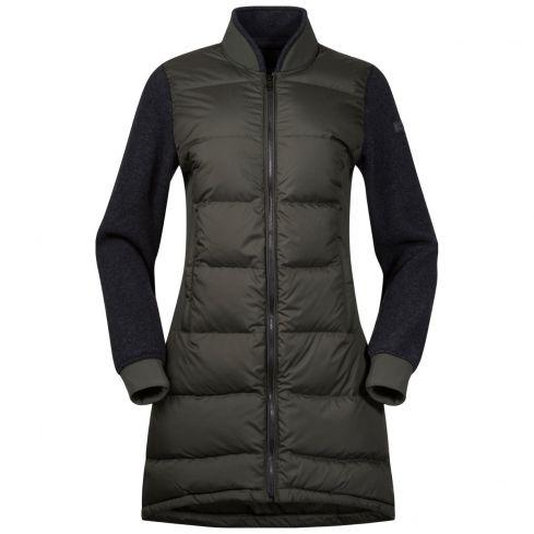 Bergans Oslo down Hybrid-1 Dames jas met dons