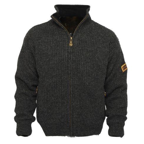 Villmark 4010: winddicht Noors vest van 100% Shetland wol met membraam voering