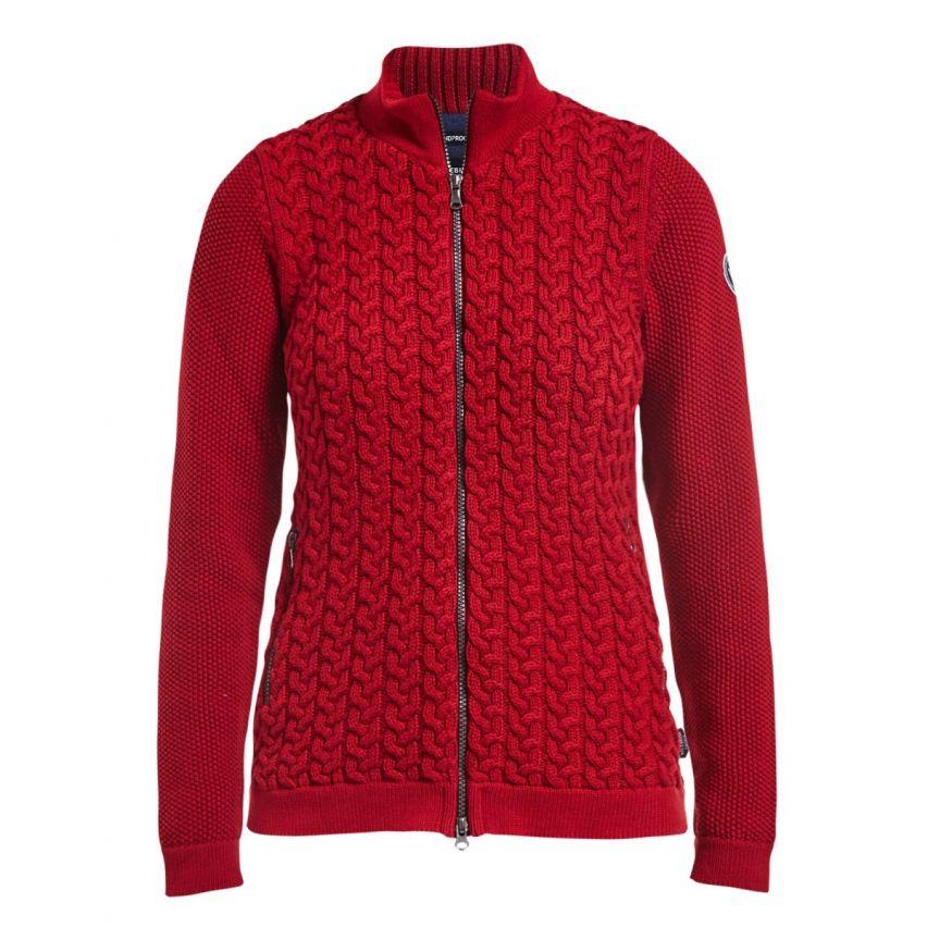 Holebrook: Amalia WP 550 Zweeds Katoenen dames vest met windproof lining