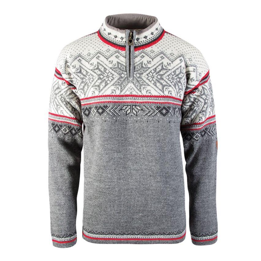 Dale: Vail 90331 T  unisex trui , ongevoerde Noorse trui gemaakt van 100% duurzame Noorse wol.