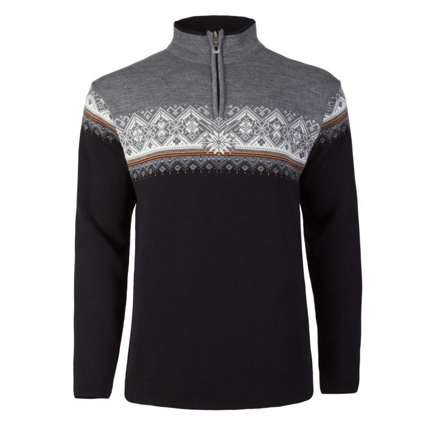 Dale of Norway: Moritz 91391 J Noorse heren pullover gemaakt van 100% Merino wol