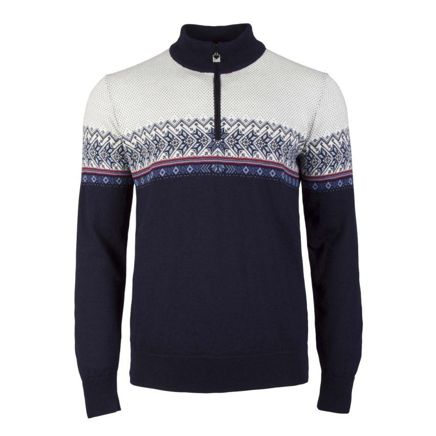 Dale: Hovden 93441 C Noorse heren pullover gemaakt van 100% Merino wol