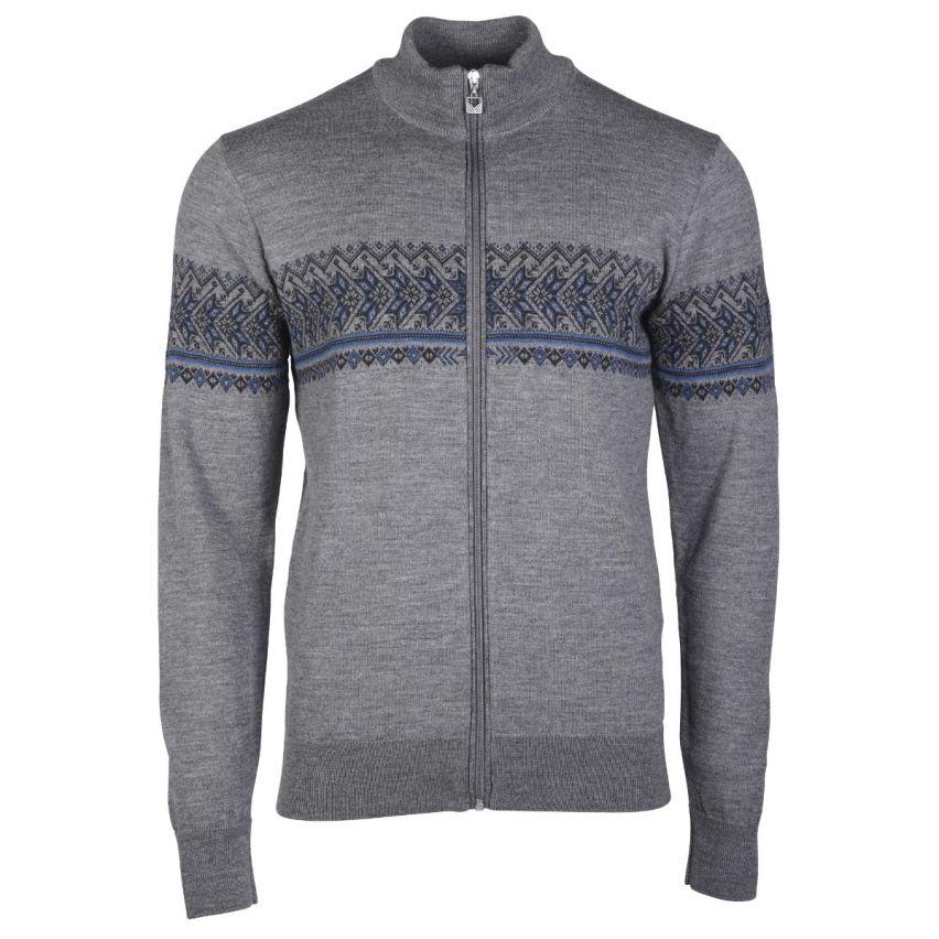Dale of Norway:Hovden 83191G Noors heren vest gemaakt van 100% Merinowol