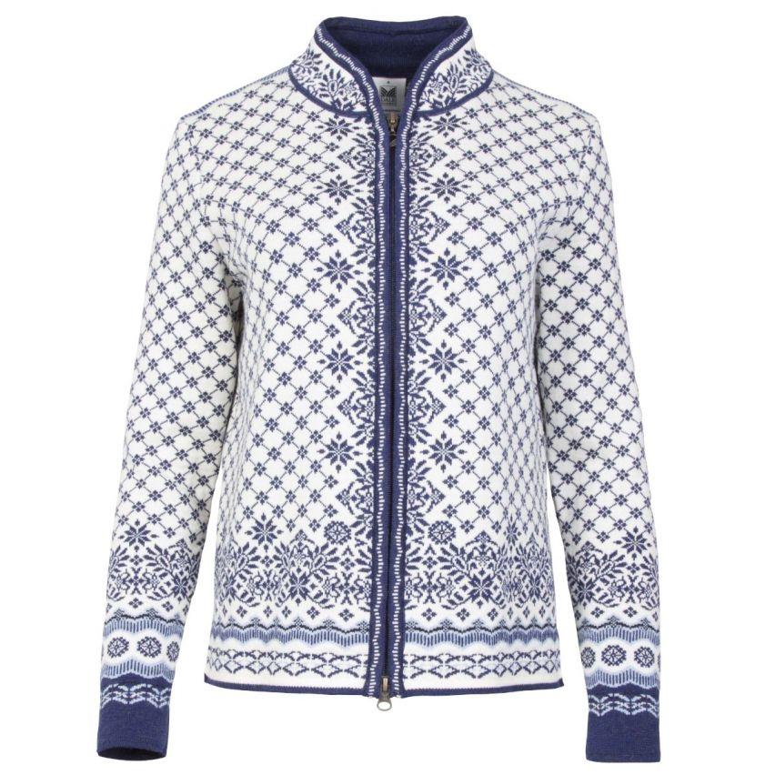 Dale of Norway: Solfrid 83341A Noors dames vest van 100% Merino wol