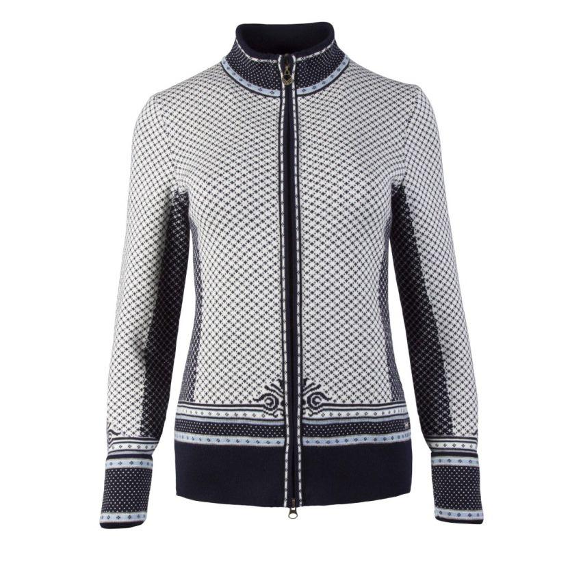 Dale of Norway: Victoria 83151C Noors dames vest van 100% Merino wol