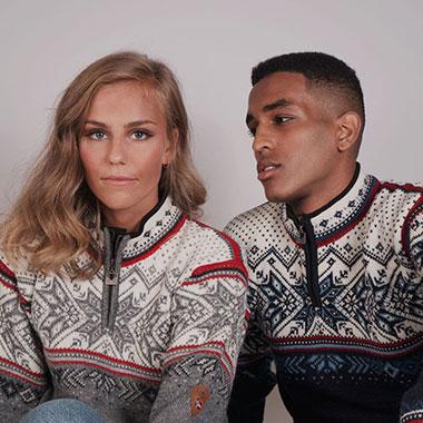 Noorse gevoerde truien